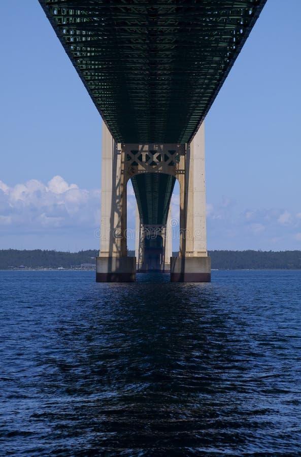 Grote Brug Mackinac stock afbeelding