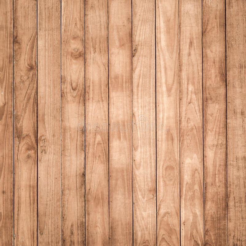 Grote Bruine houten de textuurachtergrond van de plankmuur royalty-vrije stock foto