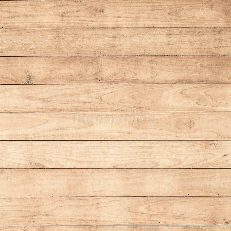 Grote Bruine houten de textuurachtergrond van de plankmuur royalty-vrije stock fotografie