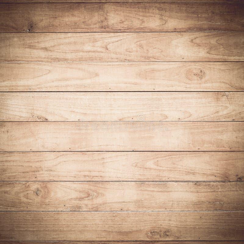 Grote Bruine houten de textuurachtergrond van de plankmuur royalty-vrije stock afbeeldingen