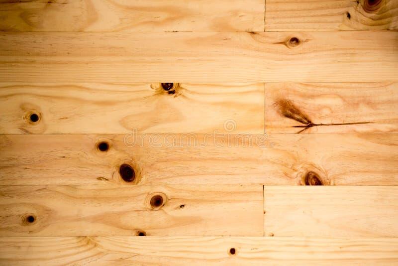 Grote Bruine houten de textuurachtergrond van de plankmuur stock foto's