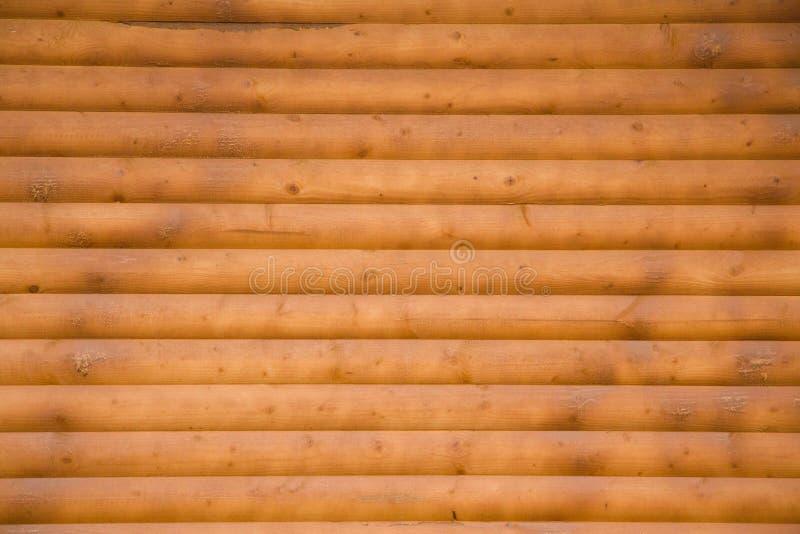 Grote Bruine houten de textuurachtergrond van de plankmuur royalty-vrije stock foto's