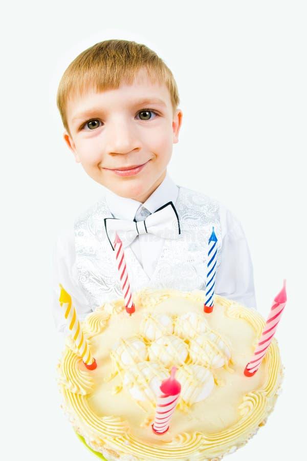 Grote cake stock fotografie