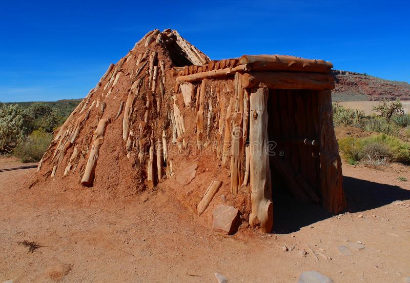 Grote canionmening Arizona, de V.S. stock foto