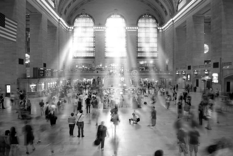 Grote Centrale Post New York stock afbeeldingen