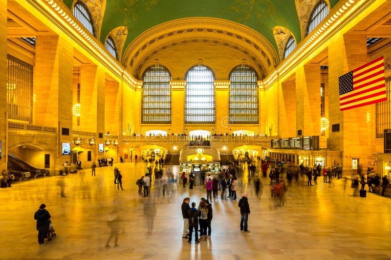 Grote Centrale Post NYC stock foto's