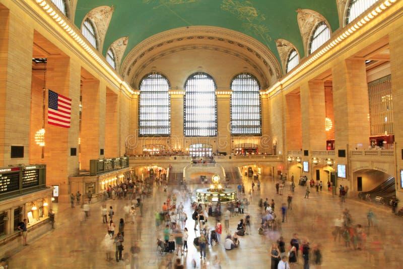 Grote Centrale Terminal, de Stad van New York stock fotografie