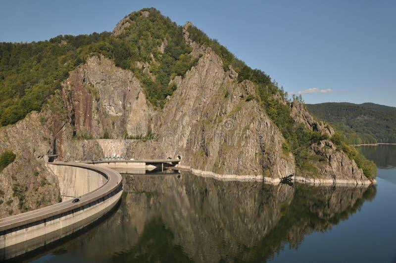 Grote dam van Roemenië royalty-vrije stock fotografie