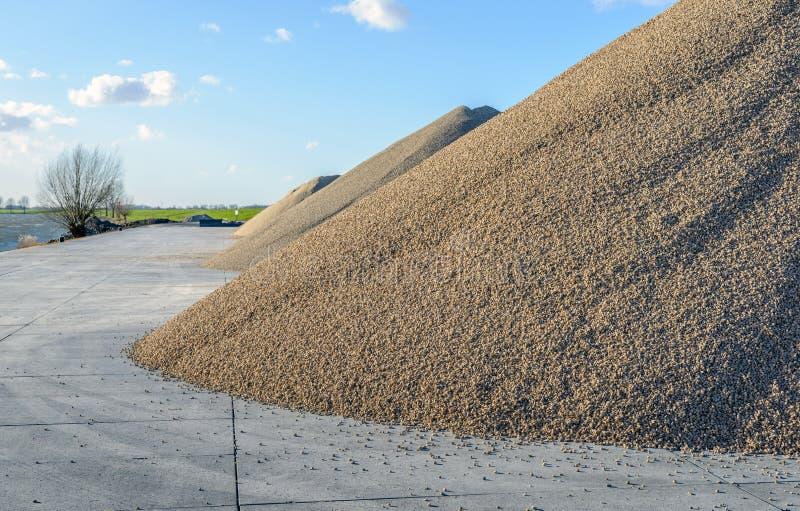 Vloer op zand met vorstrand vloer met vorstrand bouw van stuks
