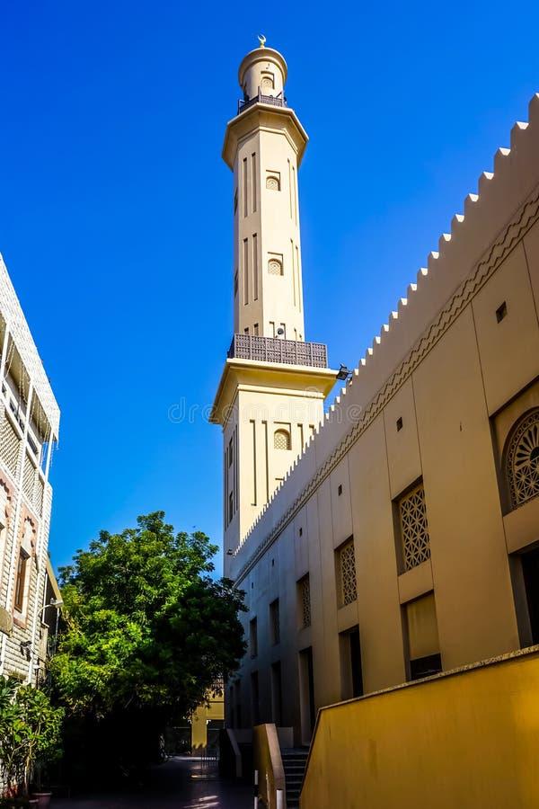 Grote Dienst Doubai Masjid royalty-vrije stock afbeelding