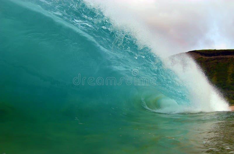 Grote en Krachtige OceaanGolf royalty-vrije stock foto