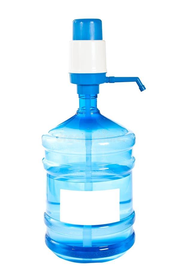 Grote fles schoon drinkwater. royalty-vrije stock fotografie