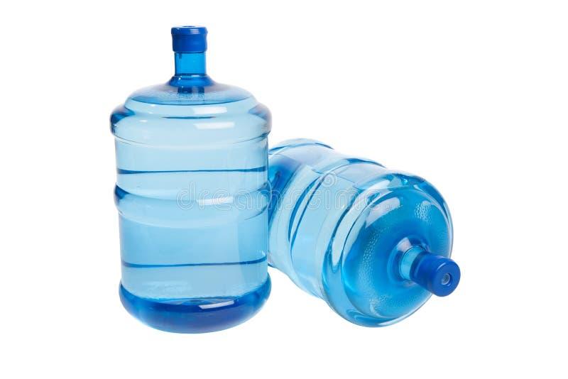 Grote fles water royalty-vrije stock foto