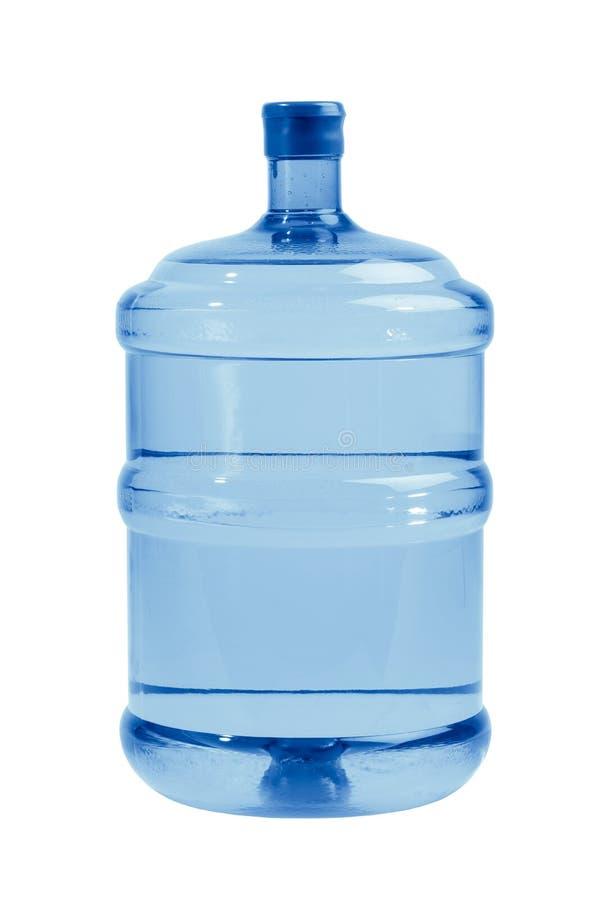 Grote fles water royalty-vrije stock afbeelding