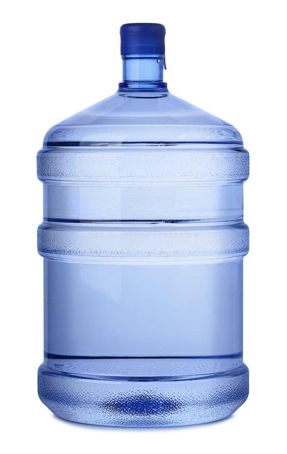 Grote fles water royalty-vrije stock fotografie