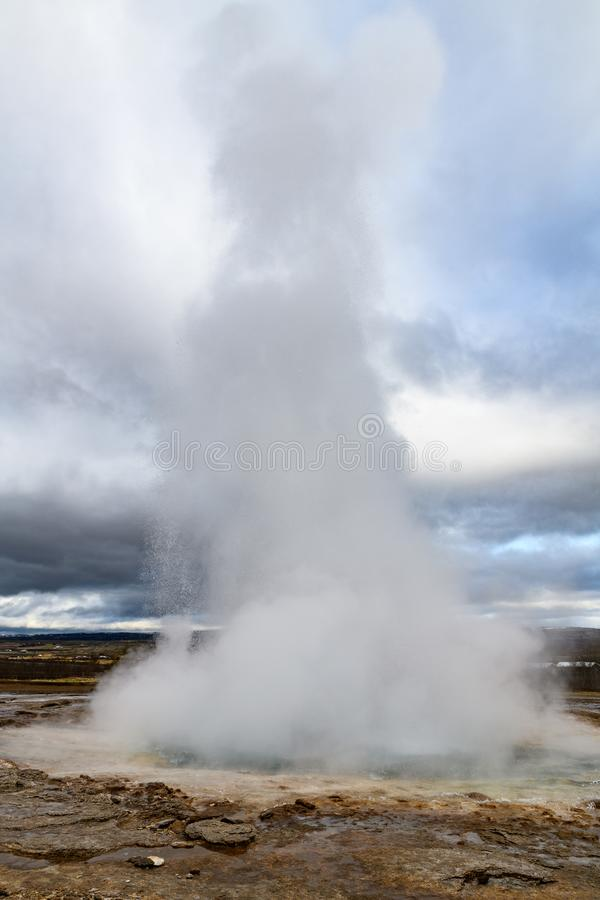 Grote Geysir royalty-vrije stock foto's