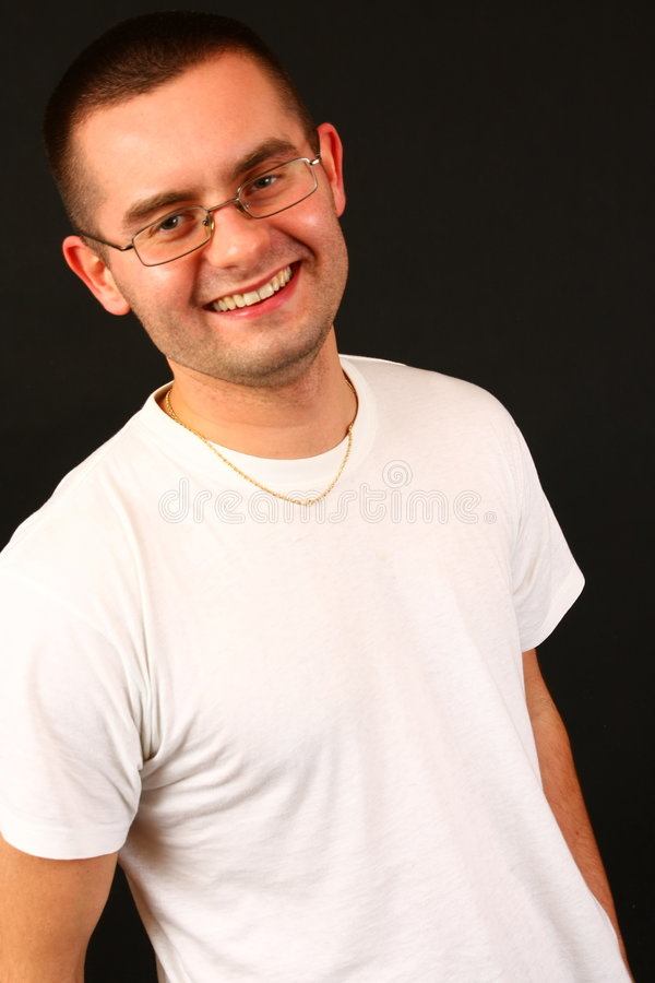 Grote glimlach stock fotografie