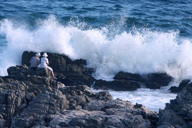 Grote golven royalty-vrije stock fotografie
