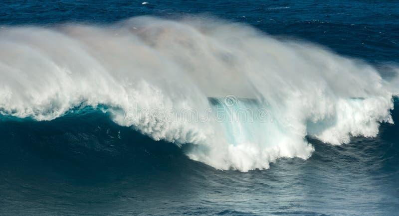 Grote golvenkaken Maui Hawaï royalty-vrije stock afbeelding