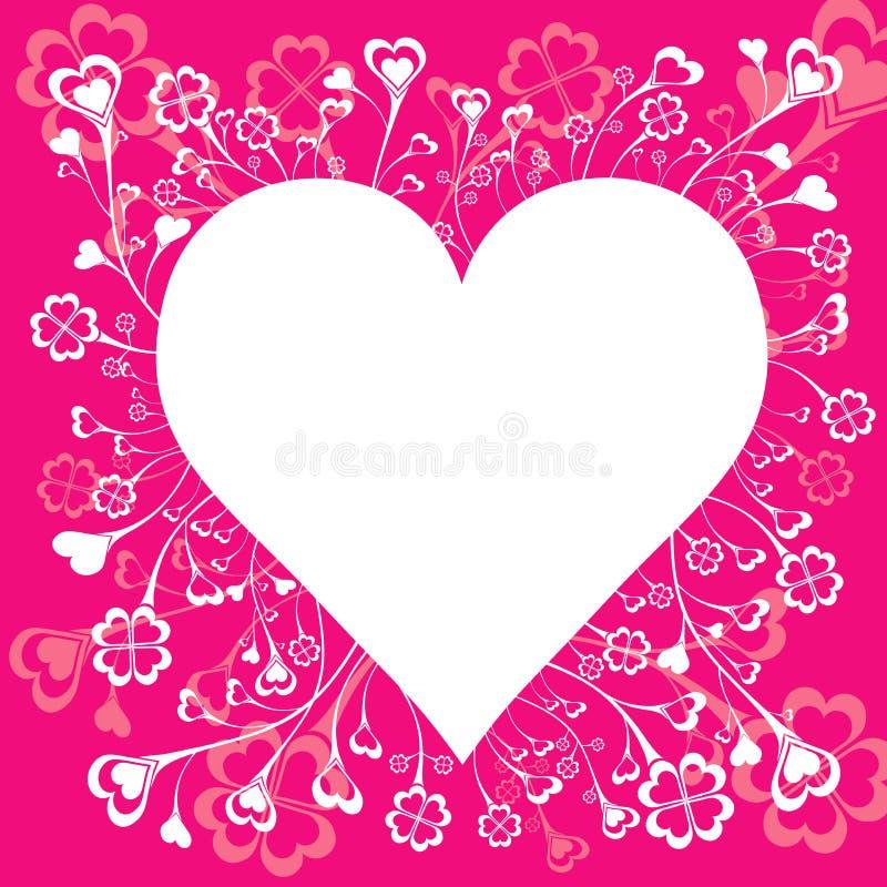 Grote harten, vector   royalty-vrije illustratie