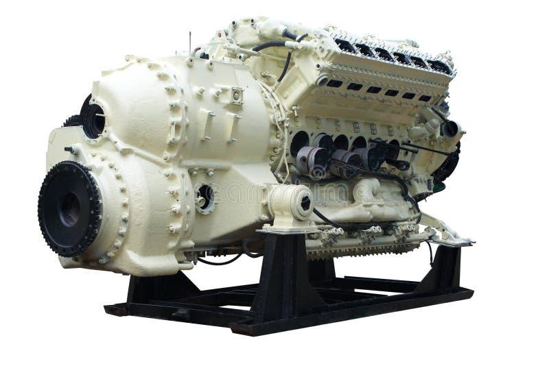 Grote interne verbrandingsmotor stock foto's
