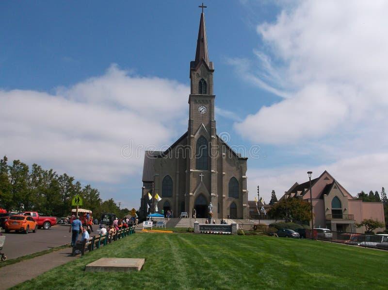 Grote kerk royalty-vrije stock afbeelding