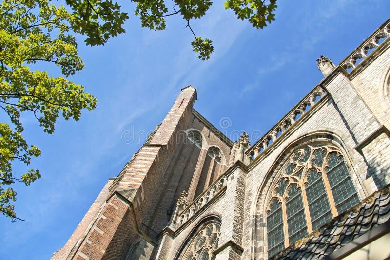 Grote Kerk kościół obrazy royalty free