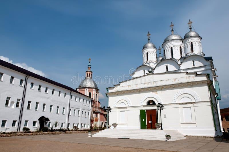 Grote kloosters van Rusland. Borovsk stock afbeelding