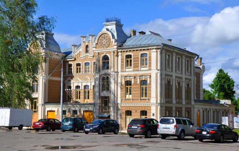 Grote Koorsynagoge in Grodno royalty-vrije stock fotografie