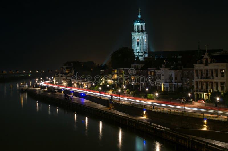Grote of Lebuïnuskerk te Deventer stock photo