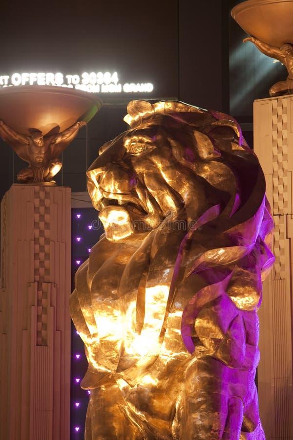 Grote Leeuw MGM stock foto's
