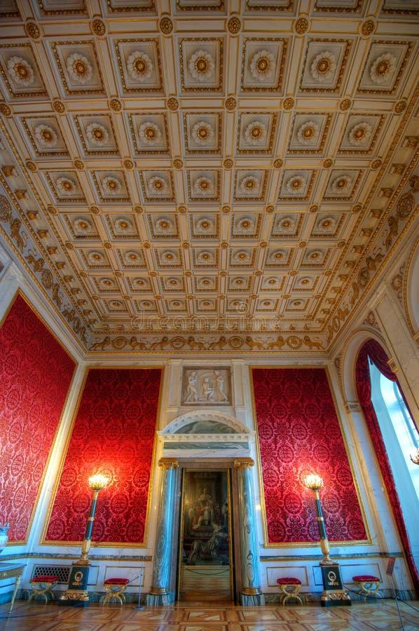 Grote luxueuze ruimte royalty-vrije stock afbeelding