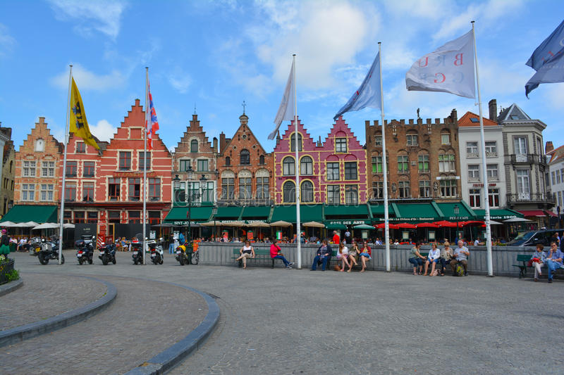 Grote Market main square royalty free stock images