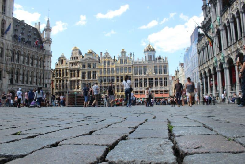 Grote Markt à Bruxelles photos libres de droits