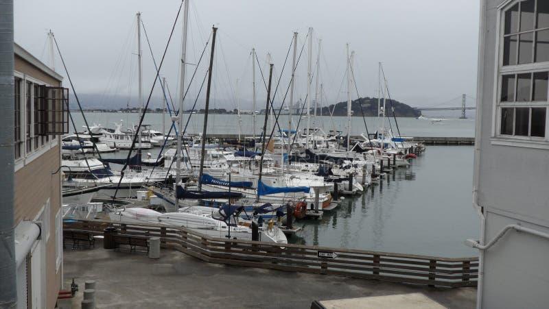 Grote mening van San Francisco Bahia stock fotografie