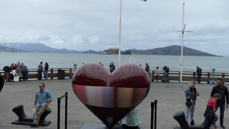 Grote mening van San Francisco Bahia stock afbeelding