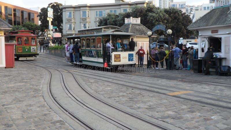 Grote mening van San Francisco Bahia stock foto