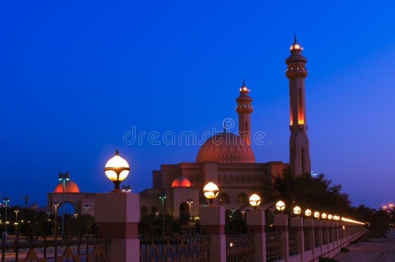 Grote moskee al -al-fateh stock foto's