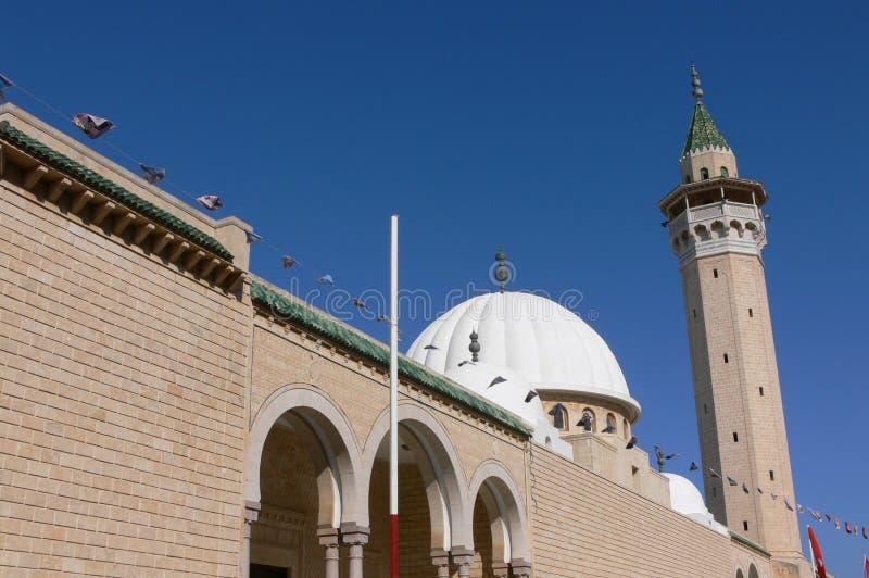 Grote Moskee in Monastir royalty-vrije stock foto's