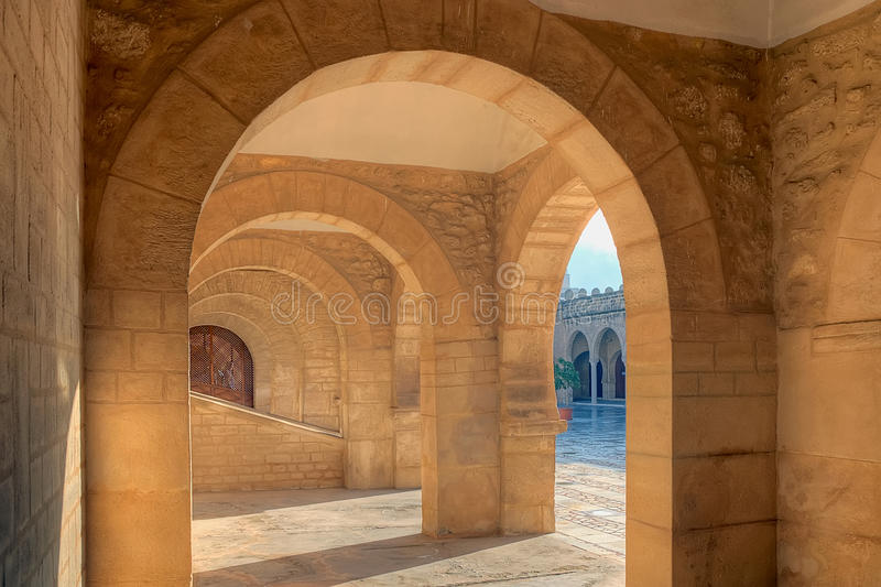 Grote Moskee in Sousse, Tunesië royalty-vrije stock foto's