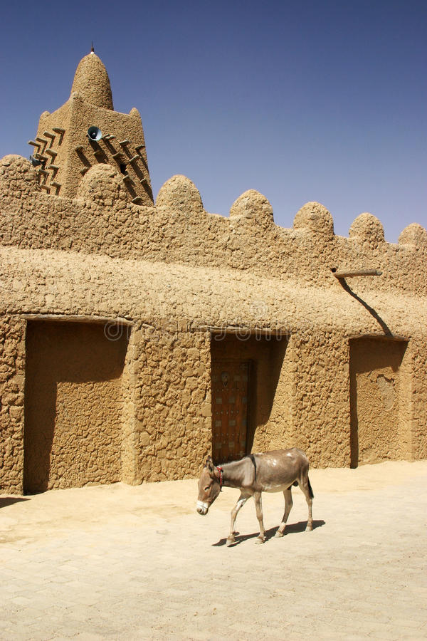 Grote Moskee in Timbuktu royalty-vrije stock afbeelding