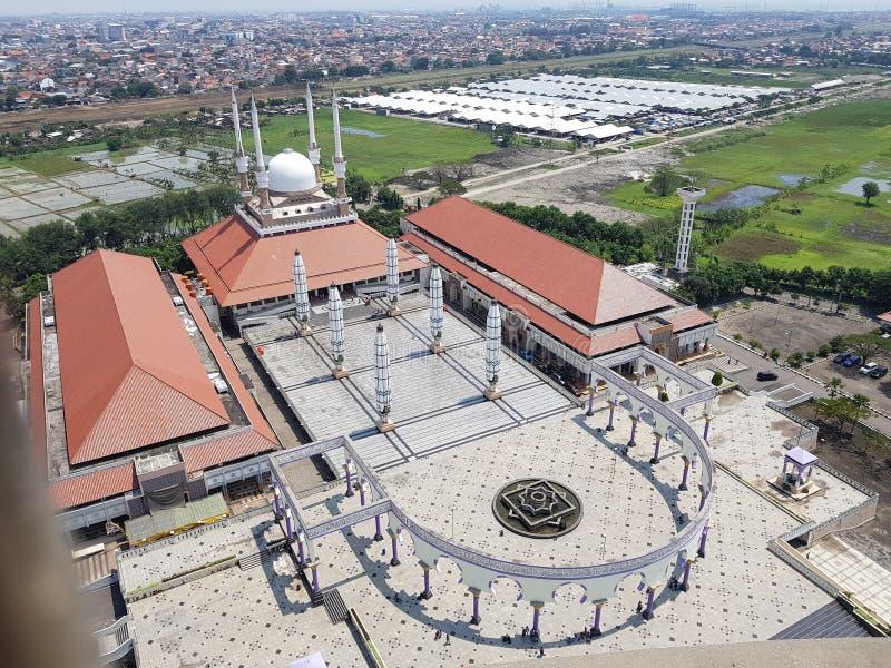 Grote Moskee van centraal Java stock fotografie