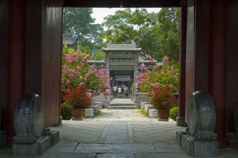 Grote Moskee, Xian stock afbeeldingen