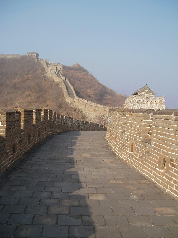 Grote Muur 1 royalty-vrije stock afbeeldingen