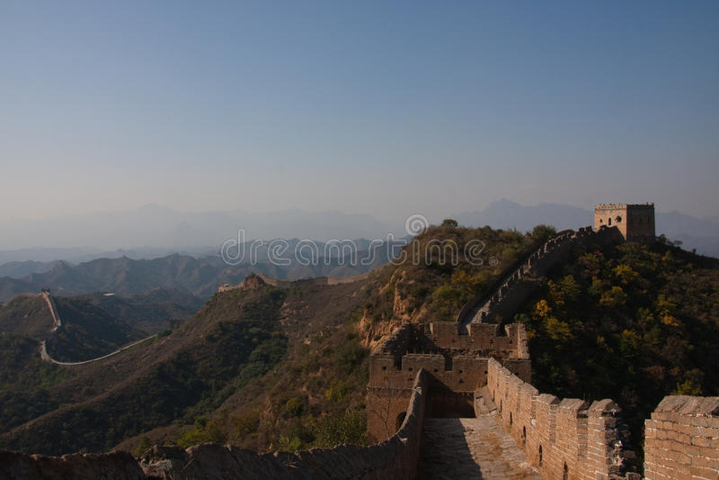 Grote muur in China stock fotografie