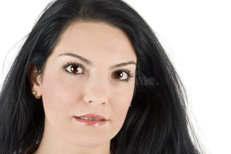 Grote ogen stock afbeelding