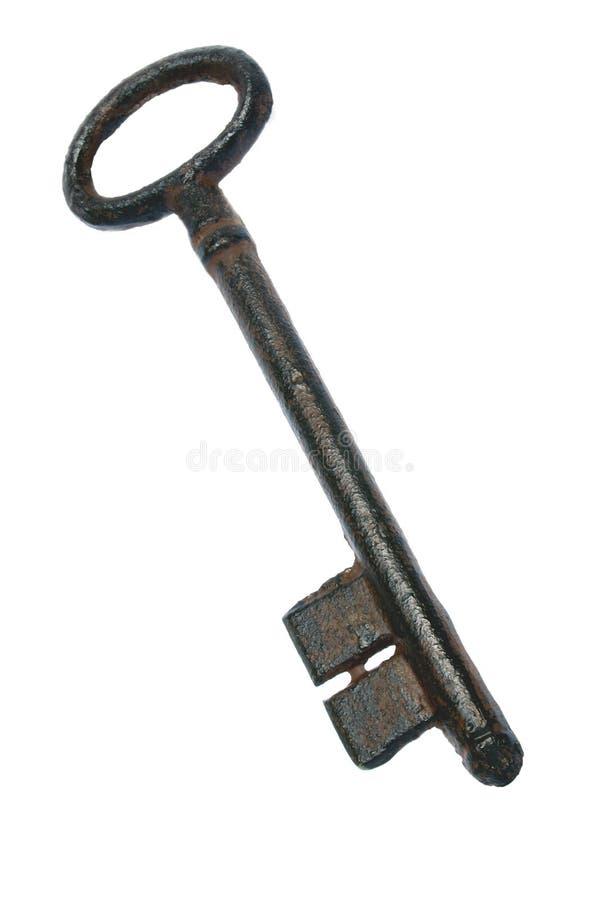 Download Grote Oude Sleutel stock afbeelding. Afbeelding bestaande uit antiquiteit - 276971