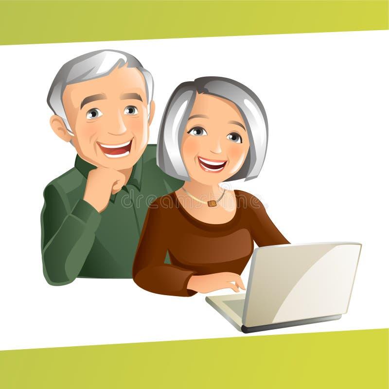Grote Ouders royalty-vrije illustratie