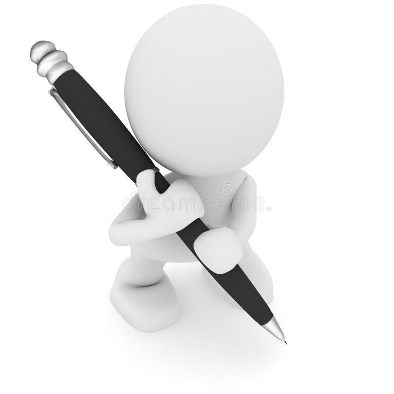 Grote Pen royalty-vrije stock fotografie