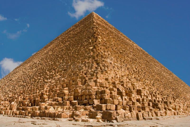 Grote piramide van Giza royalty-vrije stock foto's